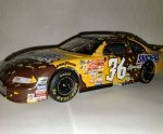 ken schrader 2001 m&m snickers cruncher bar