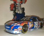 kyle busch 2009 transformer revenge of the fallen