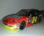 jeff gordon 2010 dupont firestorm las vegas signed