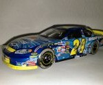 jeff gordon 2004 pepsi shards talladega raced win