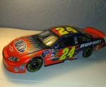 jeff gordon 2005 dupont flames daytona 500 raced win