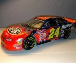 jeff gordon 2001 dupont flames las vegas raced win