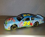 jeff gordon 2000 peanuts snoopy