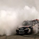 kevin harvick burnout