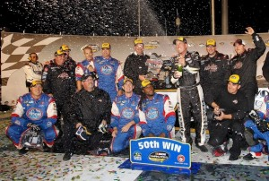 hornaday 50th win