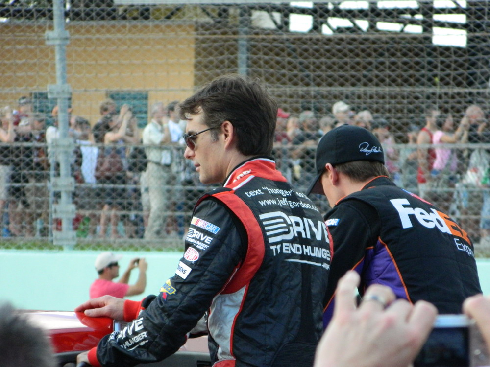frank miami 2011 jeff gordon