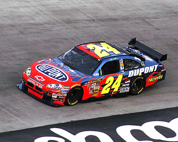 jeff gordon cot 2007