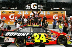 jeff gordon 2009 gatorade duel win