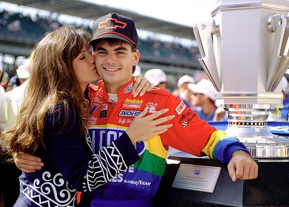 jeff gordon - brook - 1994 bickyard 400