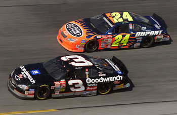 jeff gordon 2001 winston cup