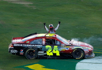 jeff gordon 2011 phoenix win