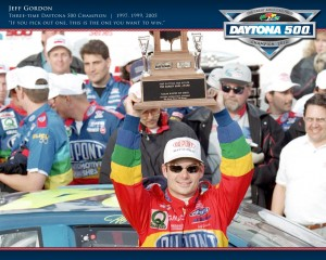 jeff gordon daytona 500 win 1997