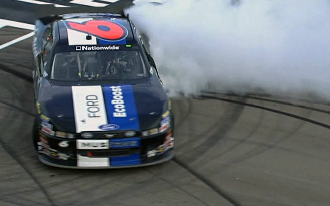 stenhouse jr. burnout