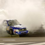 James Buescher Kentucky 2012 BurnOut - nascar.com