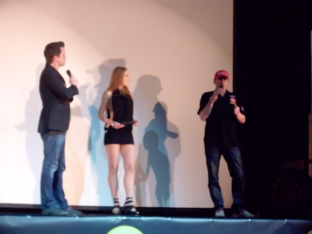 Die Prerace Show mit Lenz Leberkern (rechts)