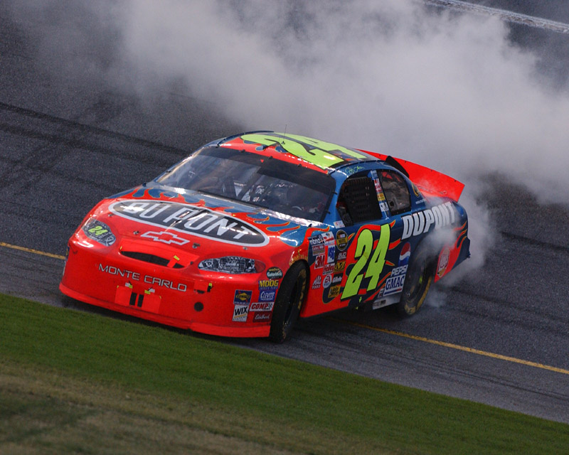 Jeff Gordon 2005 Daytona 500 Win