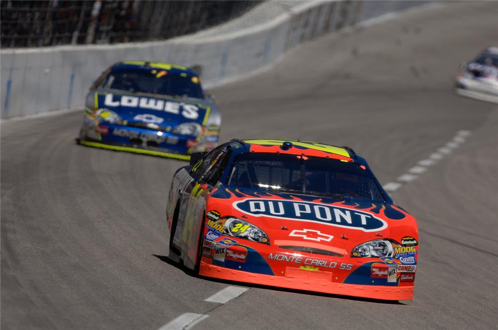 Jeff Gordon 2006 vs Jimmie Johnson