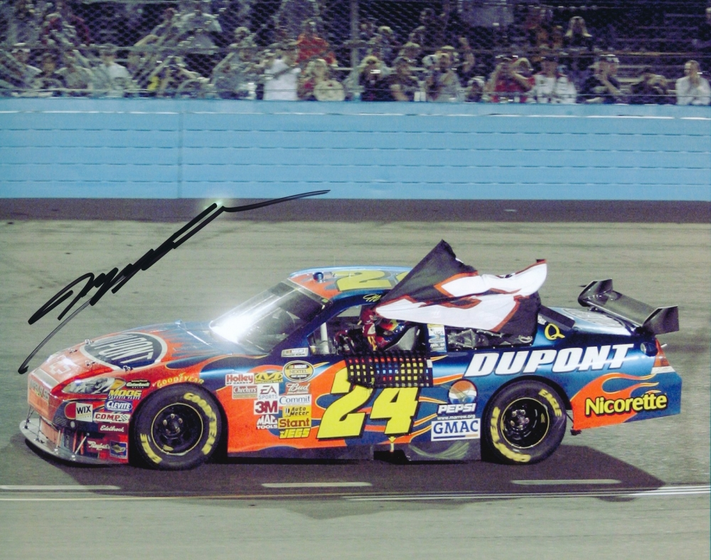 Jeff Gordon 2007 Phoenix Win #76th