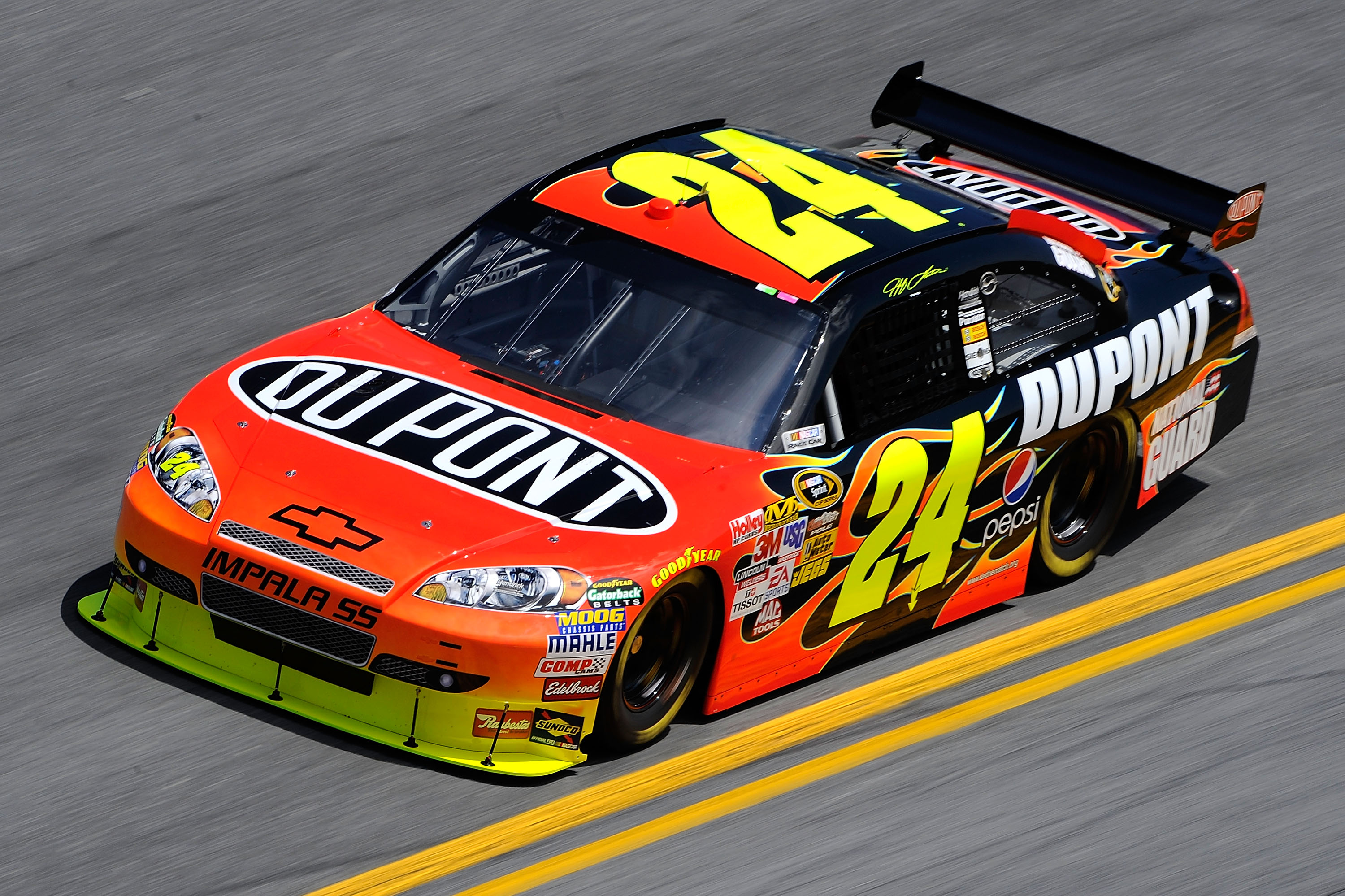 Jeff Gordon 2010 Daytona Practice
