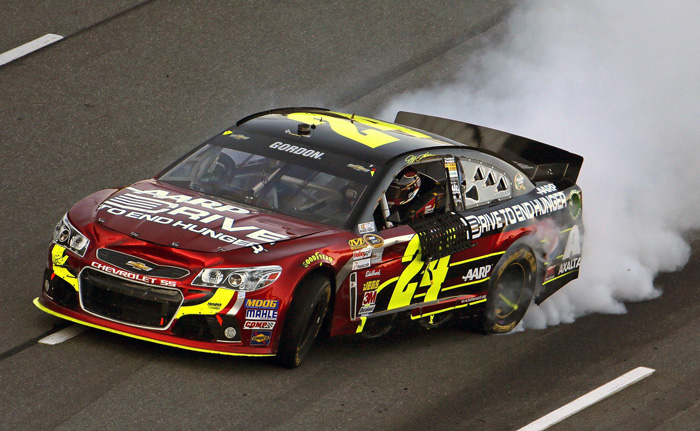 Jeff Gordon 2013 Martinsville Win