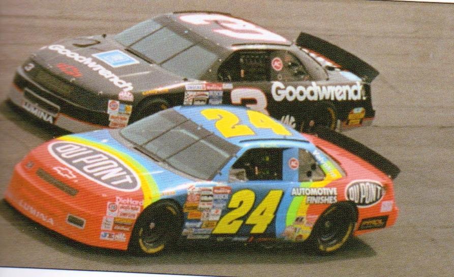 #24 Jeff Gordon und #3 Dale Earnhardt Sr. 1993