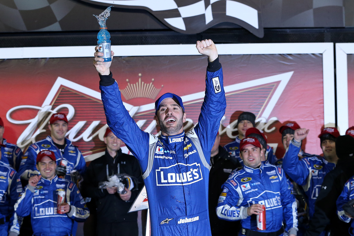 2015 Daytona Budweiser Duel 2 Winner #48 Jimmie Johnson