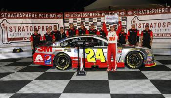 2015 Jeff Gordon Las Vegas Pole