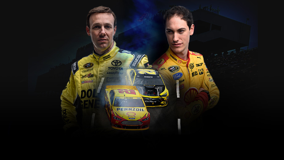 Kenseth vs logano