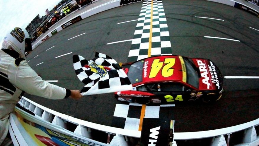 jeff gordon win 2015 martinsville finish