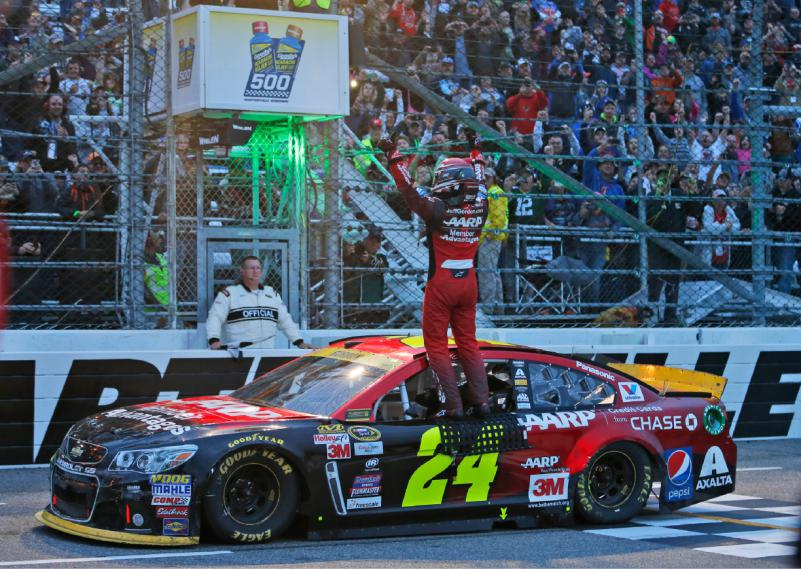jeff gordon win 2015 martinsville
